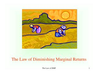 The Law of Diminishing Marginal Returns