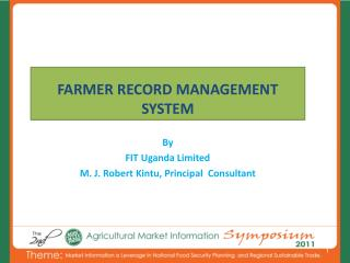 FARMER RECORD MANAGEMENT SYSTEM