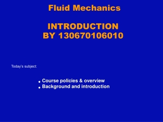 Solids and Fluids