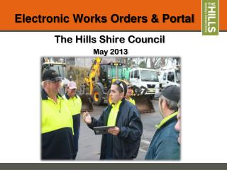 Electronic Works Orders & Portal