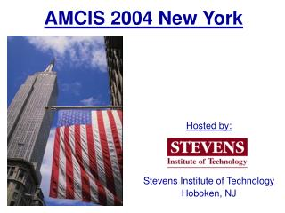 AMCIS 2004 New York