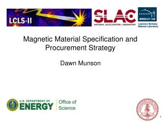 Magnetic Material Specification and Procurement Strategy