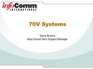 70V Systems