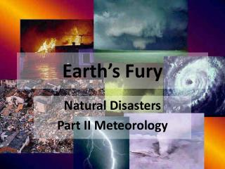 Earth's Fury
