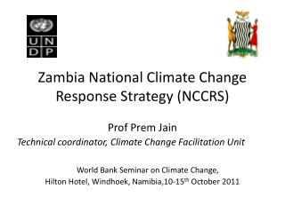 Zambia National Climate Change  Response Strategy (NCCRS)