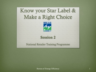 Know your Star Label & Make a Right Choice