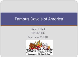 Famous Dave's of America