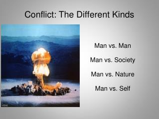 Conflict: The Different Kinds