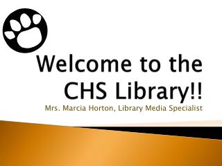 Welcome to the CHS Library!!