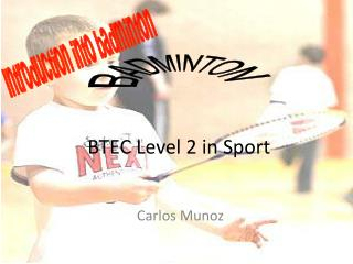 BTEC Level 2 in Sport