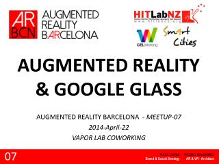 AUGMENTED REALITY  & GOOGLE GLASS