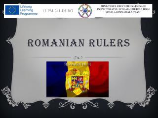 romanian rulers