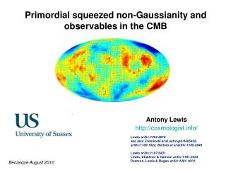 Primordial squeezed non-Gaussianity and observables in the CMB