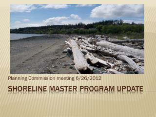 Shoreline Master program update