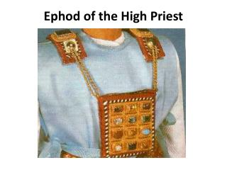 Ephod of the High Priest