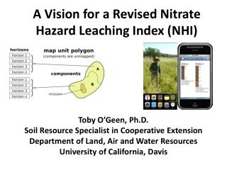 A Vision for a Revised Nitrate Hazard Leaching  Index (NHI)