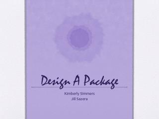 Design A Package