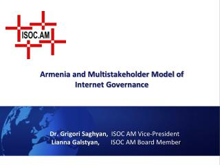 Armenia and Multistakeholder Model of Internet Governance