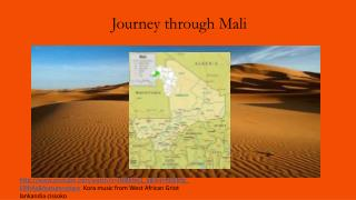 Journey through Mali