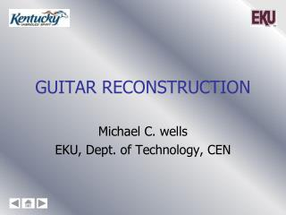 Guitar Reconstruction