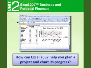Excel 2007 ®  Business and Personal Finances