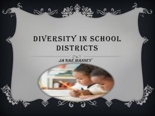 Diversity in school districts