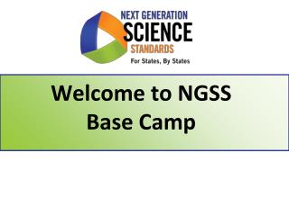 Welcome to  NGSS Base Camp