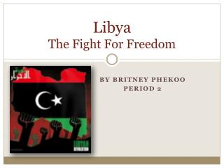 Libya The Fight For Freedom