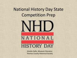 National History Day State Competition Prep