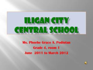 Iligan  City Central School