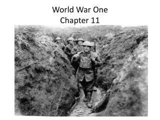 World War One Chapter 11