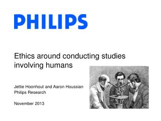 Ethics around conducting studies involving humans