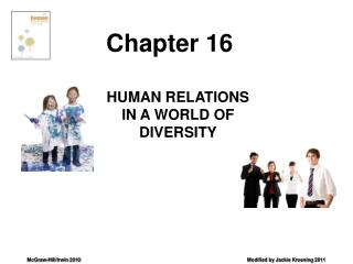 HUMAN RELATIONS IN A WORLD OF DIVERSITY
