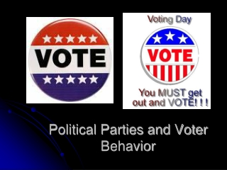 Political Parties and Voter Behavior