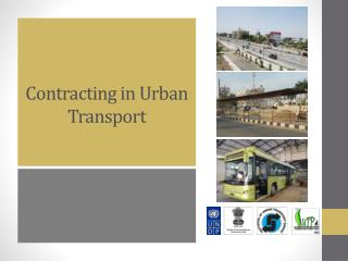 Contracting in Urban Transport