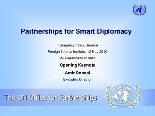 Partnerships for Smart Diplomacy