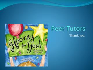 Peer Tutors