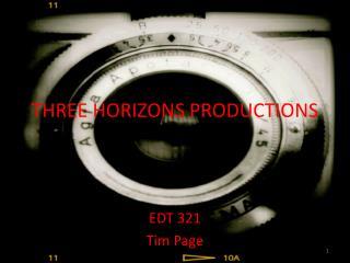 THREE HORIZONS PRODUCTIONS