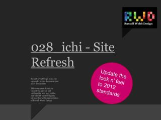 028_ichi - Site Refresh