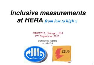 Inclusive measurements at HERA  from low to high x