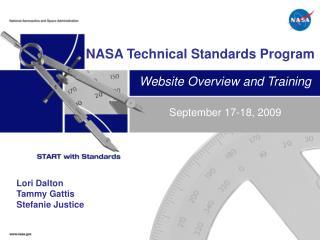 NASA Technical Standards Program