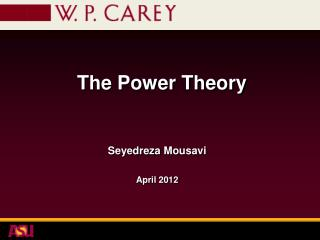 The Power  Theory
