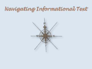 Navigating Informational Text