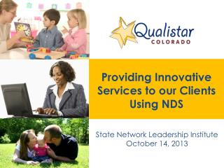 Providing Innovative Services to our Clients Using NDS