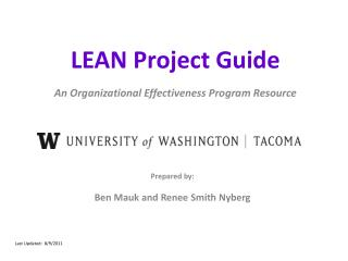 LEAN Project Guide