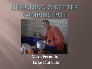 Designing a Better Camping Pot