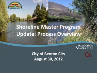 Shoreline Master Program Update: Process Overview
