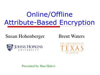 Online/Offline  Attribute-Based Encryption