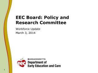 EEC Board: Policy and Research Committee