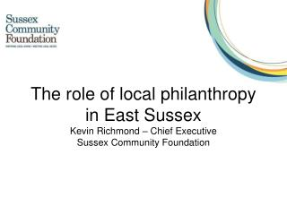 What is Sussex Community  Foundation?